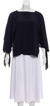 Chloé Silk Kimono Sleeve Top w/ Tags