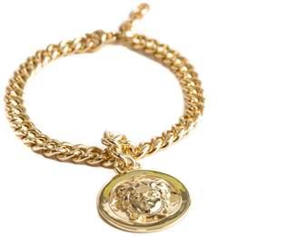 MeDusa Serge DeNimes - Gold Pendant Bracelet
