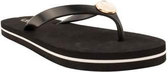 Ralph Lauren Ralph Elissa Women US 8 Black Flip Flop Sandal