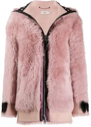 Coach hooded jacket