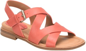 Comfortiva Leather Sandals - Devera