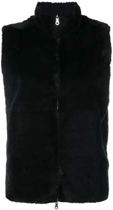 N.Peal Milano stitch sleeveless gilet
