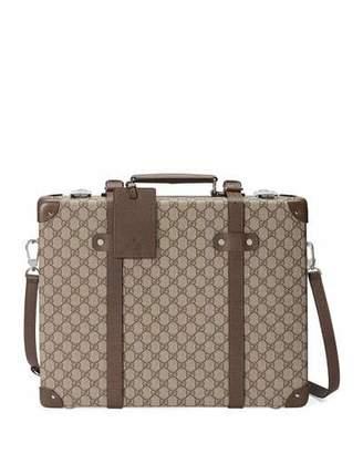 20f5b045b780 Gucci Men's Globe-Trotter GG Canvas Briefcase