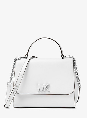 Michael Kors Mott Medium Leather Satchel