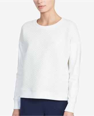Lauren Ralph Lauren Quilted Sweatshirt $89.50 thestylecure.com