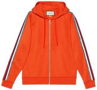 Gucci Embroidered jersey sweatshirt