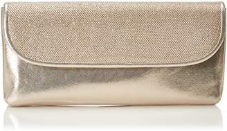 Paco Mena Womens 84181 Clutch Gold Size: