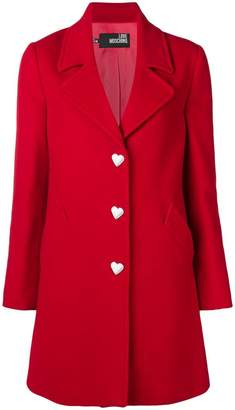 Love Moschino tailored fitted coat