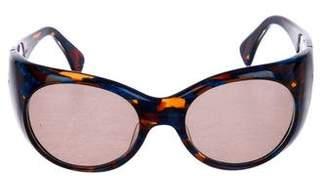 Alain Mikli Tinted Round Sunglasses