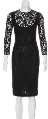 Joseph Knee-Length Lace Dress