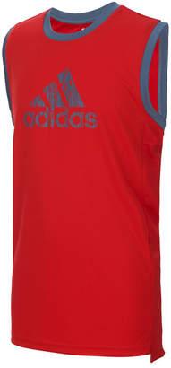 adidas Big Boys Logo-Print Tank Top