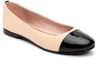 d9915eb7bb91 Taryn Rose Collection Adrianna Embossed Rose Ballet Flats