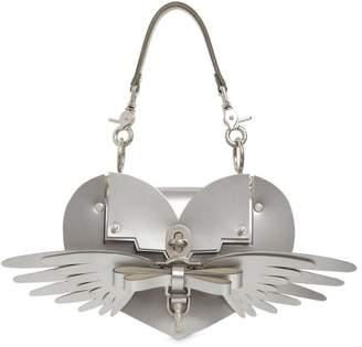 Niels Peeraer Wings Heart Leather Shoulder Bag