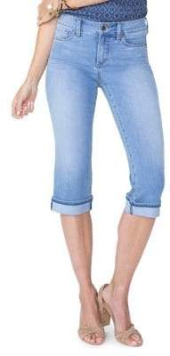 NYDJ Petite Marilyn Straight Cool Embrace Crop Jeans