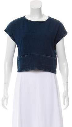 Adriano Goldschmied Knit Crop Top w/ Tags