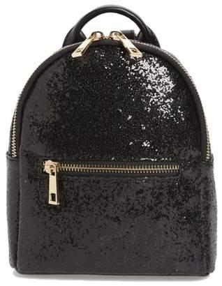 MALI AND LILI Mali + Lili Glitter Vegan Leather Backpack