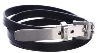 Michael Kors Leather Buckle Belt