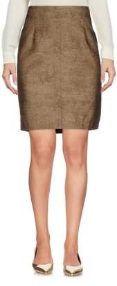 Borbonese Knee length skirts
