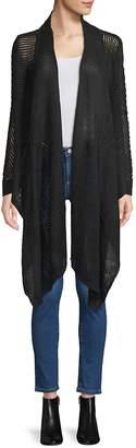 Inhabit Women's Two-Way Linen Cardigan