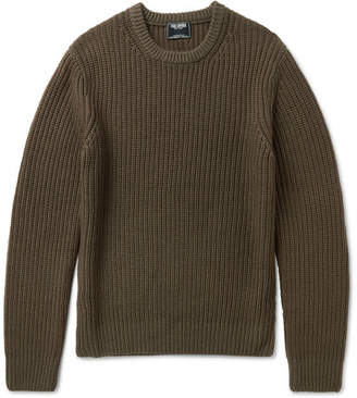 Todd Snyder Garment-Dyed Merino Wool Sweater