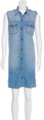 Current/Elliott Knee-Length Denim Dress