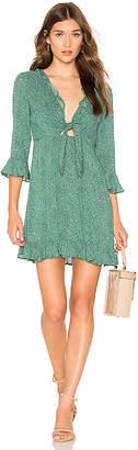 AUGUSTE Diamond Rumba Sleeved Mini Dress