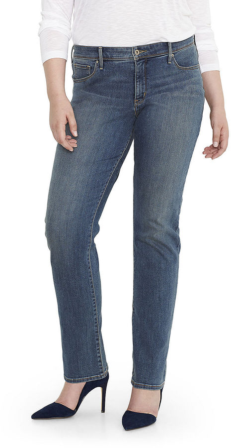 Levi's Levis 512 Perfectly Shaping Straight-Leg Jeans - Plus