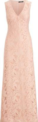 Ralph Lauren Floral Neoprene Gown