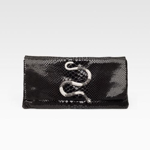 Kenneth Jay Lane Embossed Clutch