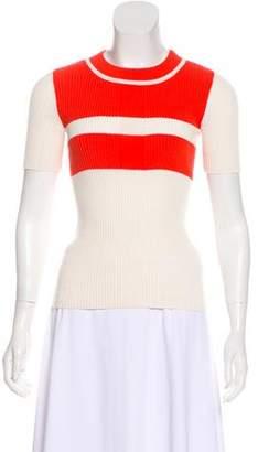 Tory Burch Striped Knit Sweater