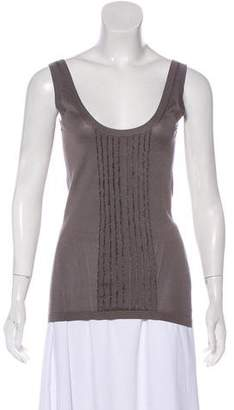 Burberry Embellished Tank Top