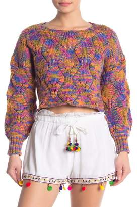 Raga Elsie Colorful Knit Pullover Sweater