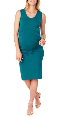 Ingrid & Isabel R) Ruched Maternity Tank Dress