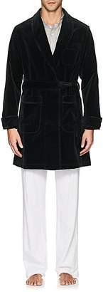 Maison Marcy Men's Cotton Velvet Robe