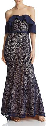Jarlo Jillian Popover Lace Mermaid Gown - 100% Exclusive