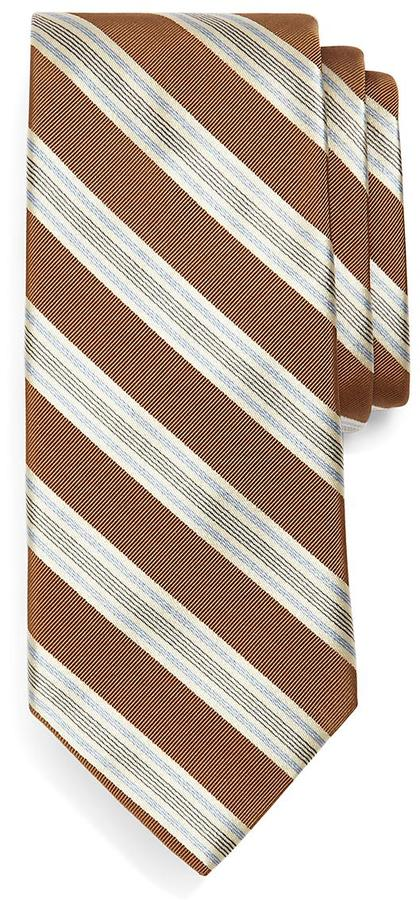 Brooks Brothers Framed Music Stripe Tie
