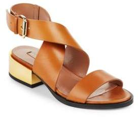 Briella Ankle Strap Sandals $248 thestylecure.com
