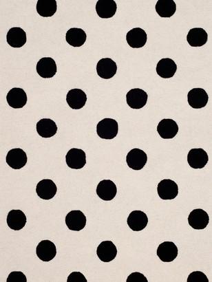 Safavieh Kid's Polka Dot Hand-Tufted Wool Area Rug