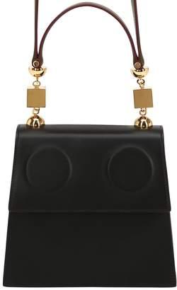 Marni Medium Marionette Leather Shoulder Bag