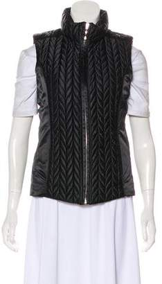 Post Card Quilted Down Vest