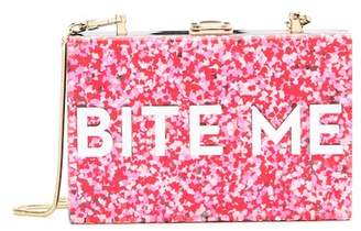 Milly Glitter BITE ME Box Clutch