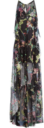 Etro Silk Chiffon Maxi Dress