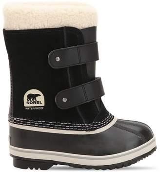 Sorel Waterproof Nubuck Snow Boots