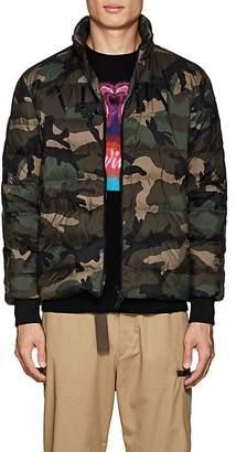 Valentino Men's Camouflage Down Puffer Jacket