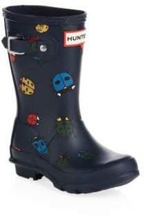 Hunter Toddler's& Kid's Ladybug Rain Boots