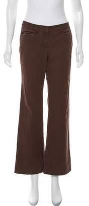 MICHAEL Michael Kors Mid-Rise Wide-Leg Pants