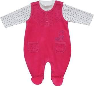 Schnizler Baby-Girls Clothing Set Nicki Princess Neck Long Sleeve Romper,(Manufacturer Size:62)