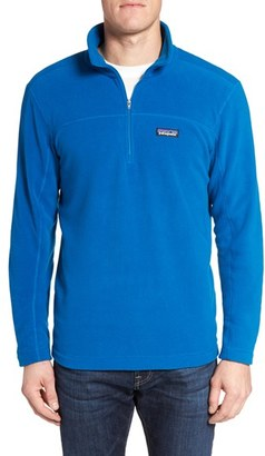 Men's Patagonia 'Micro D' Quarter Zip Front Pullover $69 thestylecure.com