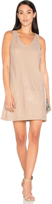 Michael Stars Sequin Mini Dress $188 thestylecure.com