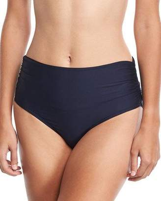 Luxe by Lisa Vogel Premier High-Waist Banded Swim Bikini Bottom